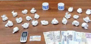 مكافحة المخدرات تلقي القبض علي تاجر مخدرات في الدقهلية