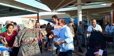 مطار القاهرة يستقبل الحجاج