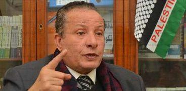 الراحل سيد عبد الغني رئيس الحزب الناصري وأمين صندوق نقابة المحامين