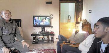 «مصطفى» أحد الموسيقيين المكرمين من الحملة