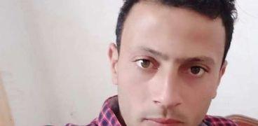 الشاب المتوفي أحمد تعيلب