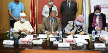 توقيع بروتوكول لتطوير الحضانات في كفر الشيخ