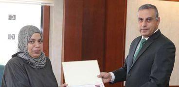 محافظ سوهاج يكرم وكيل وزارة الزراعة