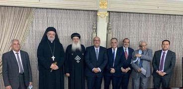 ممثلي الكنائس مع مستشار رئيس الوزراء