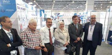 فوز جامعة القناة بالمركز الثاني معرض القاهرة الدولي السادس للابتكار .