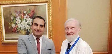 """الدكتور """"محمد العيسوى"""" بعلوم طنطا يحصل علي جائزة OBADA العالمية"""