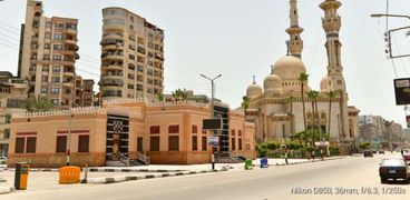 مسجد النصر بالمنصورة