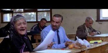 """مشهد الامتحان في فيلم """"اللمبي"""""""
