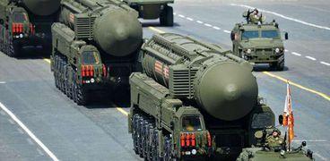 عرض عسكري للصواريخ النووية الروسية (أرشيفية)