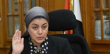 الدكتورة هبة والي.. رئيس مجلس إدراة المصل واللقاح