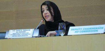 ريم الهاشمي وزيرة الدولة لشؤون التعاون الدولي، المدير العام لمكتب إكسبو 2020 دبي