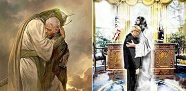 حرب بستار ديني على تويتر.. المسيح يحتضن ترامب والحسين يحتوي سليماني