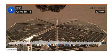 مقطع صوتي للمريخ رفعته ناسا على ساوندكلاود