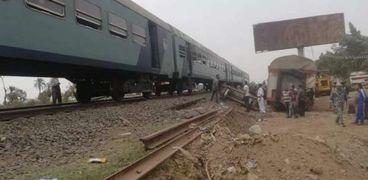 حادث قطار بنها