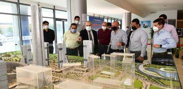 استطلاع ماكيت مباني الحي الحكومي للعاصمة الإدارية