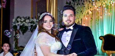 حفل زفاف الكاتب الصحفي إمام أحمد والإعلامية إيمان محمود