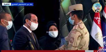 الرئيس خلال مشاركته في الندوة التثقيفية للقوات المسلحة اليوم