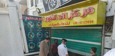 خلال الحملات التي شنتها اجهزة احياء محافظة الجيزة