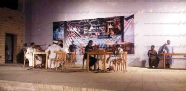 """""""ذو الوجهين"""" عرض مسرحي لثقافة حسن فخر الدين بأسوان"""