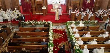 البابا تواضروس خلال العظة