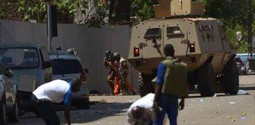 مقتل 18 إرهابيا وشرطي في شمال بوركينا فاسو
