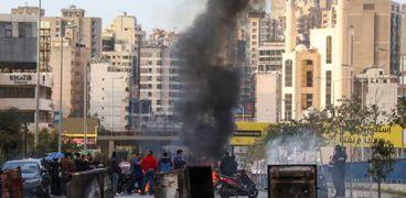 من احتجاجات في بيروت