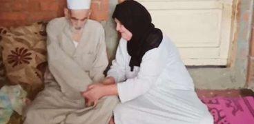 """""""لم يتحمل فراقها وامتنع عن الطعام"""".. محفظ قرآن يلحق بزوجته بعد 10 أيام"""