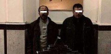 ضبط تشكيل عصابي تخصص في صناعة مخدر الحشيش بغرب الإسكندرية