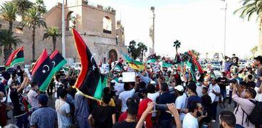 الاحتجاجات في ليبيا