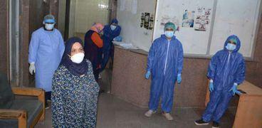مسشتفيات وزارة الصحة استقبلت أعدادا كبيرة من مصابي كورونا