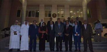 لجنة الشئون العربية بمجلس النواب في زيارة للبحرالأحمر