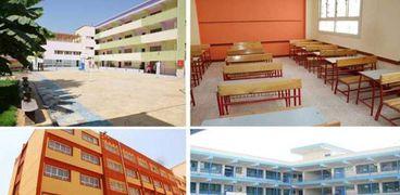 جانب من تطوير مدارس القاهرة