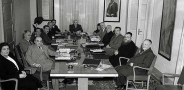 اجتماع أول حكومة إسرائيلية