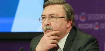 مندوب روسيا لدى المنظمات الدولية ميخائيل أوليانوف
