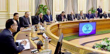 اجتماع الدكتور مصطفي مدبولي رئيس مجلس الوزرء مع رؤساء الصحف