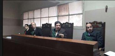 الدائرة الثانية بمحكمة جنايات كفر الشيخ