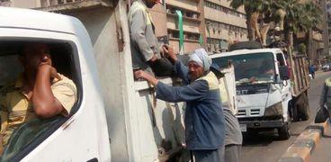 حملات من هيئة نظافة وتجميل محافظة الجيزة
