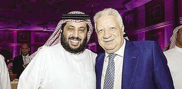 تركي آل الشيخ ورئيس الزمالك
