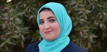 أسماء أبو طالب تروي كواليس أول جلسة افتتاحية للبرلمان برئاسة عائشة حسانين
