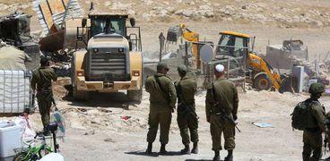 قوات الاحتلال تواصل عمليات التطهير في الأغوار الشمالية