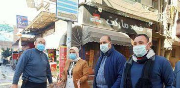 رئيس مدينة دسوق خلال قيادتها حملات رفع مياه الأمطار