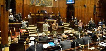 أحد اجتماعات اللجنة التشريعية لمناقشة التعديلات الدستورية