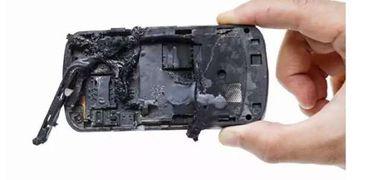 انفجار هاتف محمول