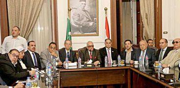 اجتماع سابق للهيئة العليا لحزب الوفد