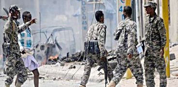 عناصر من القوات الأمنية في الصومال