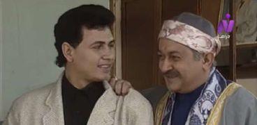 نور الشريف ومحمد رياض