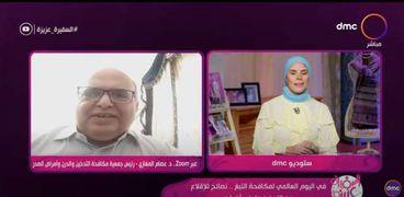 الدكتور عصام المغازي، رئيس جمعية مكافحة التدخين والدرن وأمراض الصدر،
