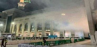 سحب فوق رؤوس المعتمرين في مكة