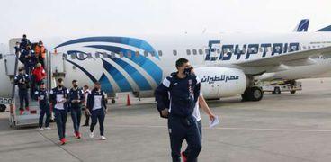 مصر للطيران تستقبل منتخب فرنسا لكرة اليد