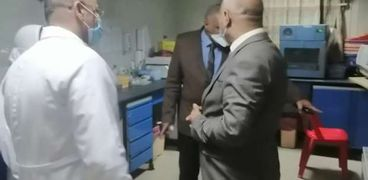 بالصور وكيل الصحة بالغربية يتفقد مراكز إعطاء اللقاح للوقاية من كورونا